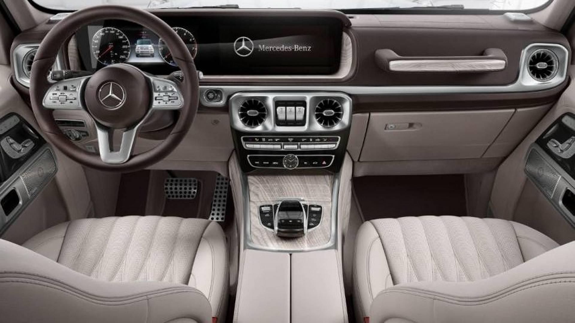 2019 Mercedes Benz G Class Interior 1 Momentogp