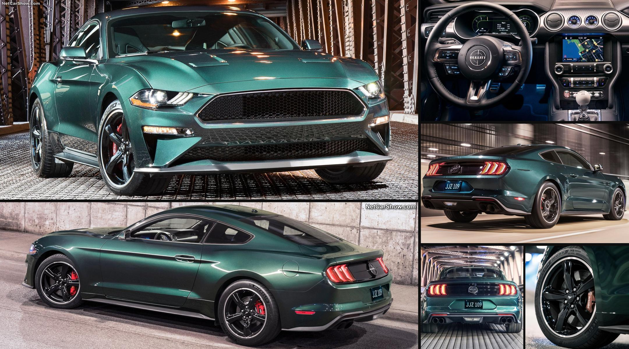 2018 Ford Bullitt Mustang New Car Release Date And