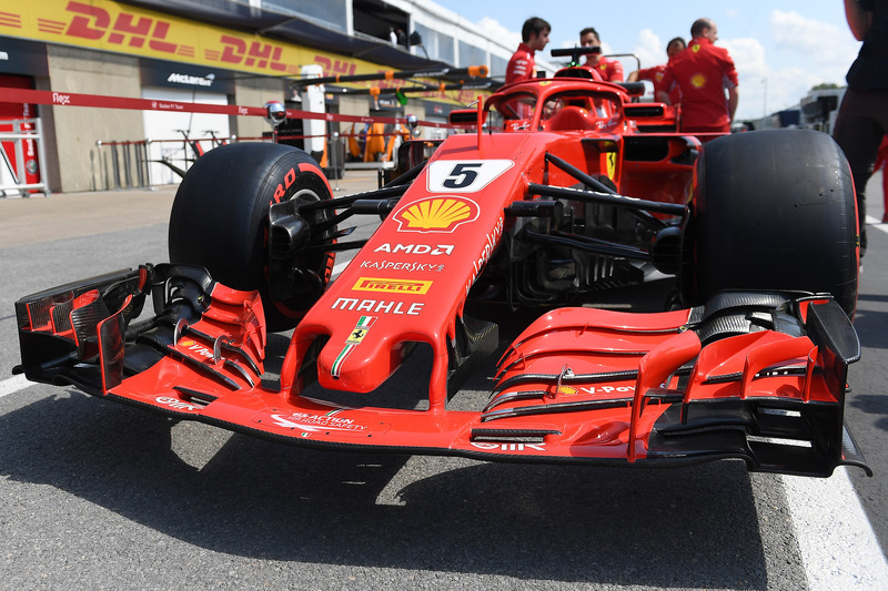 F1 Canadian Gp 2018 Ferrari Sf71h Nose And Front Wing