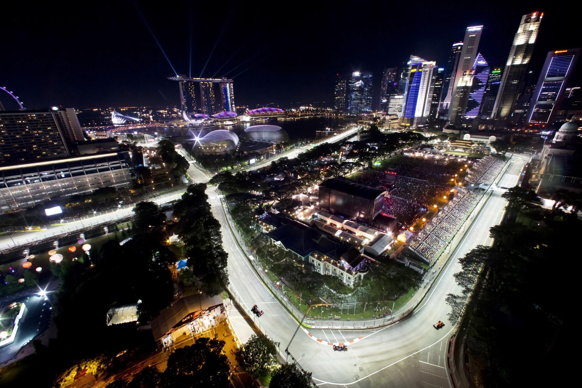 Circuito Singapur : El gp de singapur la carrera nocturna de la f1 u2022 momentogp