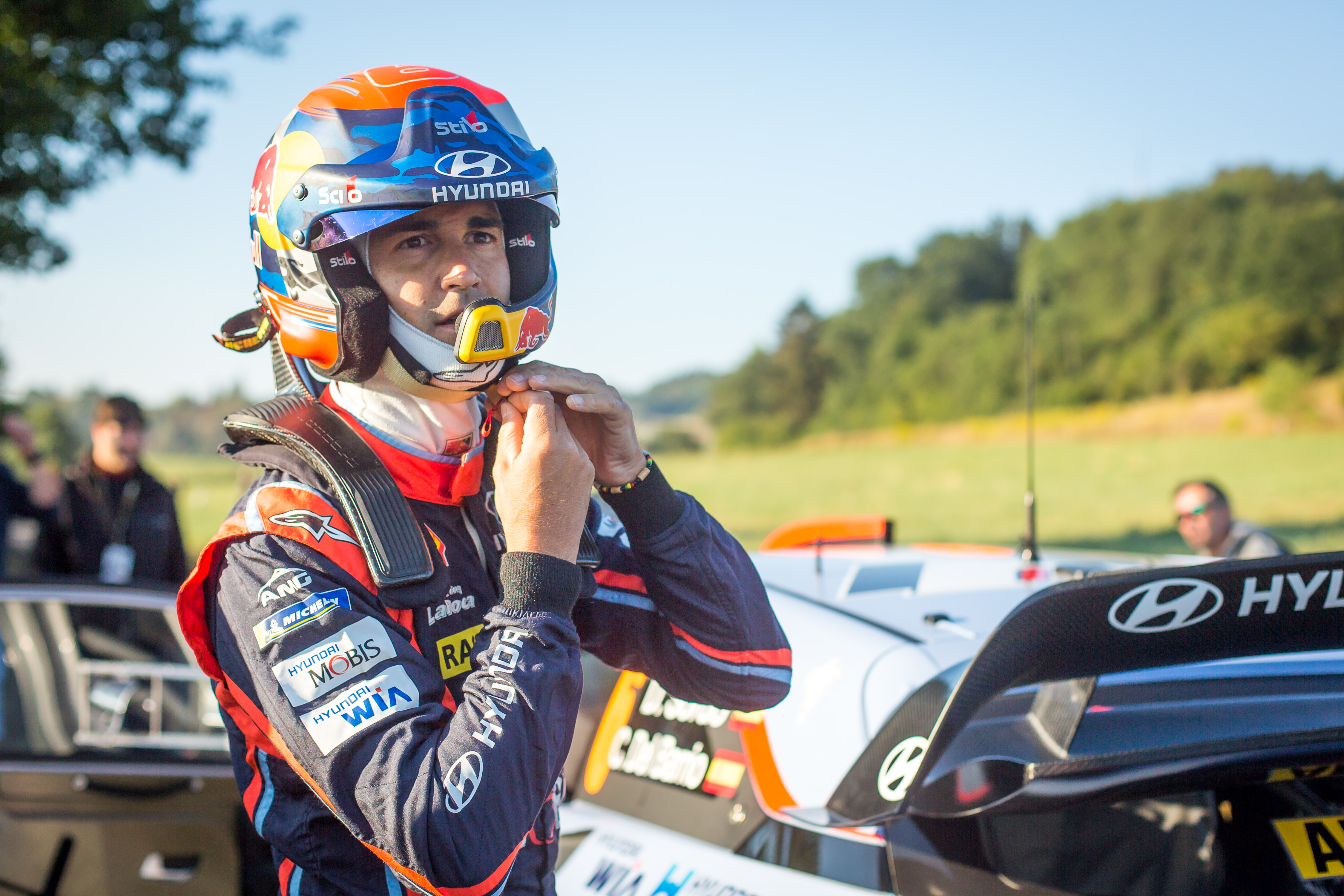 Dani Sordo en el Rally de Alemania 2018