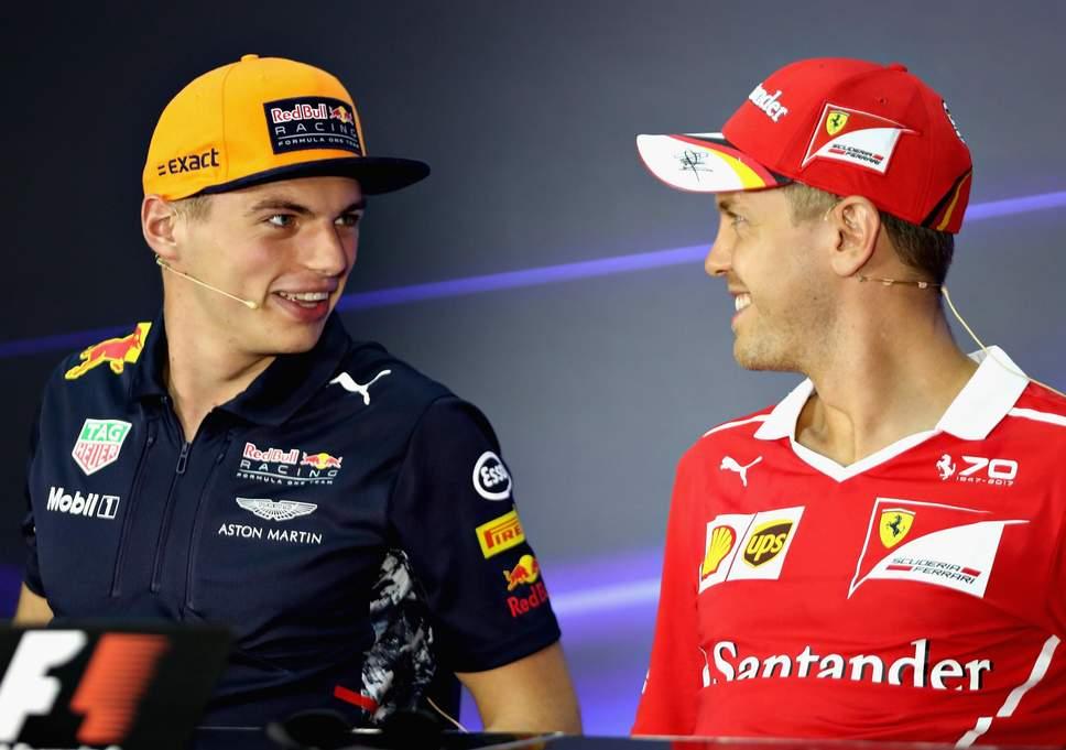 Resultado de imagen de Verstappen Vettel